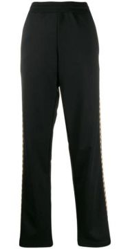 Printed Side Panels Track Trousers - Moschino