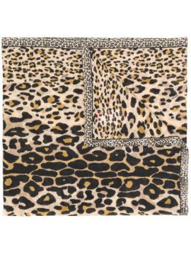 Animal Print Scarf - Escada