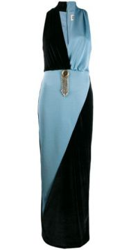 Two-tone Fitted Dress - Fausto Puglisi