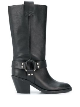 Mid-calf Buckled Boots - See By Chloé