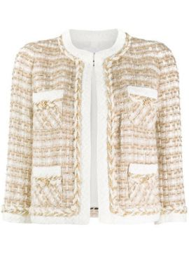 Embroidered Fitted Jacket - Edward Achour Paris