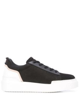 Textured Lace-up Sneakers - Buscemi