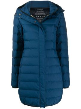 Hooded Down Coat - Ecoalf