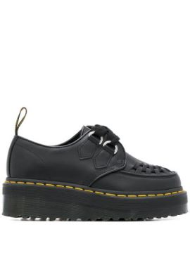 Chunky Sole Loafers - Dr. Martens