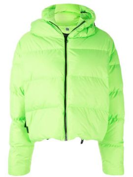 Cloud Neon Puffer Jacket - Bacon
