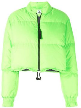 Bubble Neon Puffer Jacket - Bacon