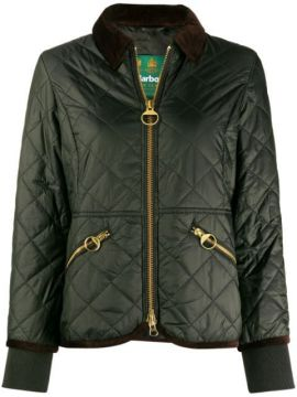 Quilted Bomber Jacket - Barbour