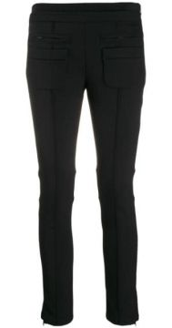 Cropped Skinny-fit Trousers - Courrèges