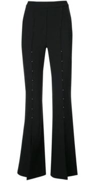 High Waisted Flared Trousers - Ellery