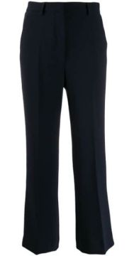 Cropped Flared Trousers - Brag-wette