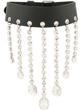 Crystal Drop Necklace - Alessandra Rich