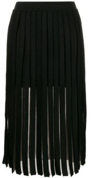 Pleated Midi Skirt - Balmain