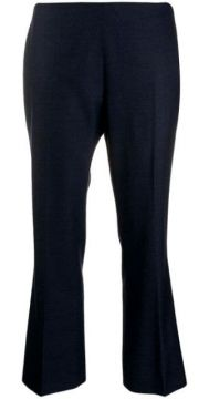 Cropped Kick-flare Trousers - Berwich