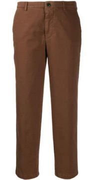 Cropped Slim-fit Trousers - Berwich