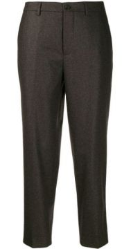 Cropped Straight-leg Trousers - Berwich