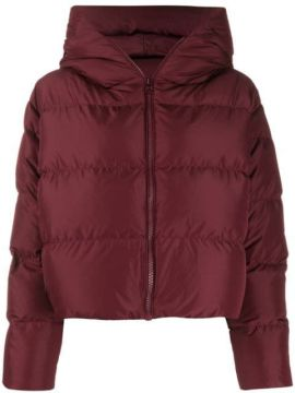 Cloud Hooded Puffer Jacket - Bacon