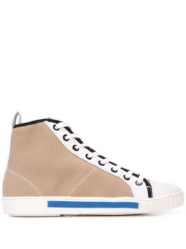 Hi-top Lace Up Sneakers - Carven