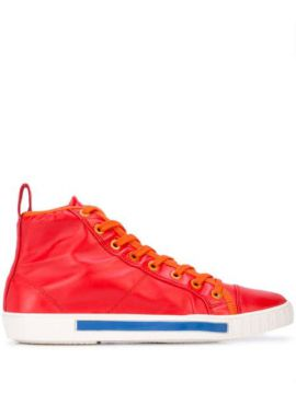 Lace Up Hi-top Sneakers - Carven