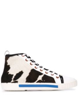Textured Hi-top Sneakers - Carven