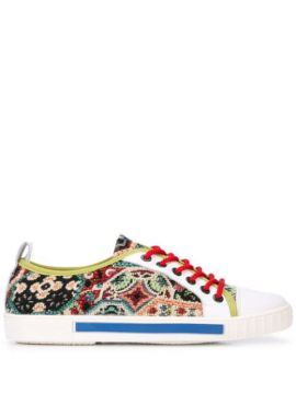 Low Top Tapestry Sneakers - Carven