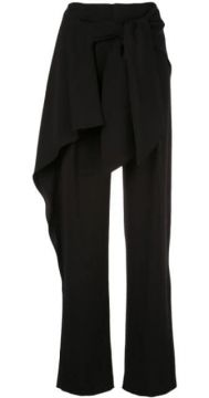 Tie Waist Straight Trousers - Chloé