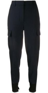 Pinstriped Tapered Trousers - 3.1 Phillip Lim