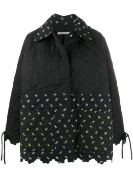 Quilted Floral-print Jacket - Cecilie Bahnsen