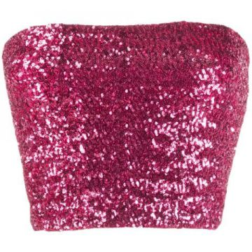 Sequin Cropped Top - Andamane