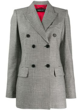 Checked Double Breasted Blazer - Barbara Bui