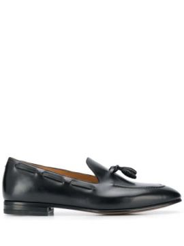 Tassel Detail Pointed Loafers - Francesco Russo