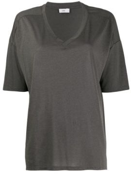 Short-sleeve Flared T-shirt - Closed