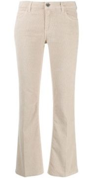 Cropped Flared Trousers - Haikure