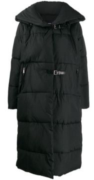 Quilted Buckled Coat - Barbara Bui