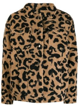 Jaqueta Com Animal Print - Apparis
