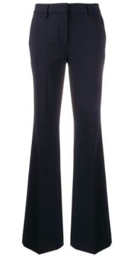 Flared Tailored Trousers - Brag-wette