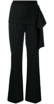 Draped Detail Straight Trousers - 3.1 Phillip Lim
