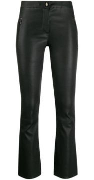 Cropped Kick Flare Trousers - Arma