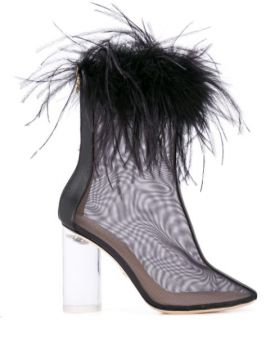 Midnight Pompom Boots - Brother Vellies