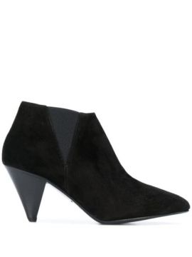 Structured Ankle Boots - Closed
