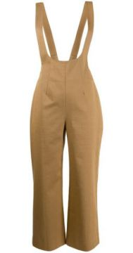 Cropped Dungaree Jumpsuit - Alexa Chung