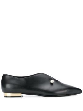 Pearl-embellished Ballerinas - Coliac