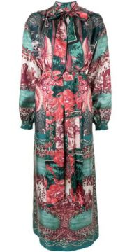 Paradise Silk Maxi Dress - F.r.s For Restless Sleepers