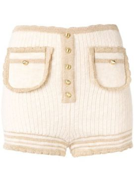 Heaven Help Ribbed Knit Short - Alice Mccall