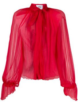Silk Pussybow Blouse - Atu Body Couture