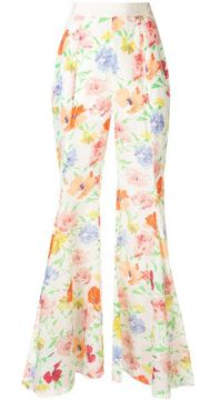 Picasso Wide Floral Trousers - Alice Mccall
