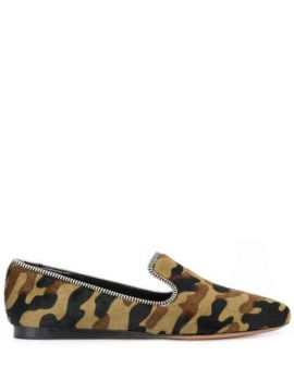 Griffin Camouflage Loafers - Veronica Beard