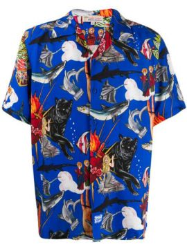 Popular De Lujo Printed Shirt - Esteban Cortazar