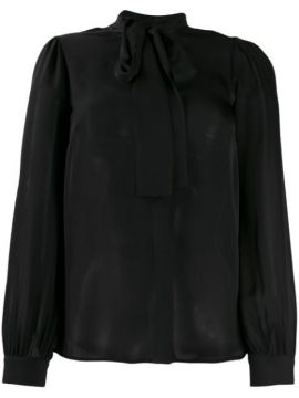 Silk Pussybow Blouse - Michael Kors Collection