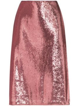Wiona Sequin-embellished Skirt - Hvn