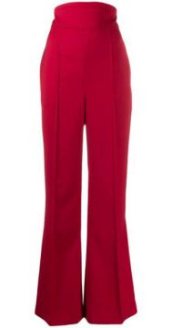 High Waisted Flared Trousers - Atu Body Couture